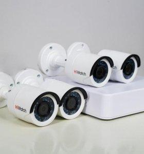 Комплект видеонаблюдения (уличный)