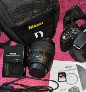 Nikon d5100 + nikon 18-105