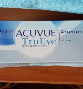 Однодневные контактные линзы Acuvue One Day TruEye