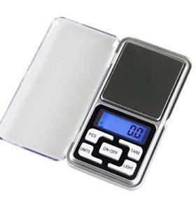 Мини-весы ювелирные карманные
