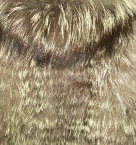 Продам жилетку натуральная Лиса