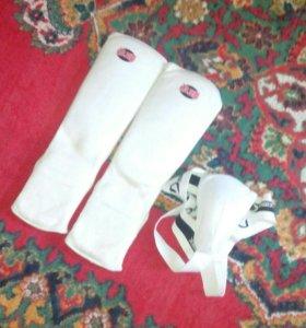 Защита на ноги и бондаж