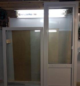 Дверь и окно ПВХ