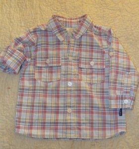 рубашка и жилет р-р80