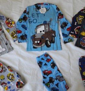 Пижамы Новые детские 3-7