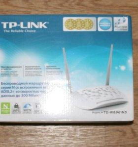 Wi-Fi роутер, adsl модем, TP-link TD-W8961ND