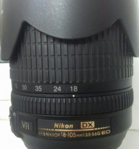 AF-S NIKKOR 18-105 mm 1:3.5 - 5.6G ED