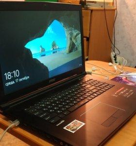 Продам Ноутбук MSI GP72 2QE Leopard Pro
