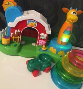 Развивающая игрушка Ферма / Пирамидка