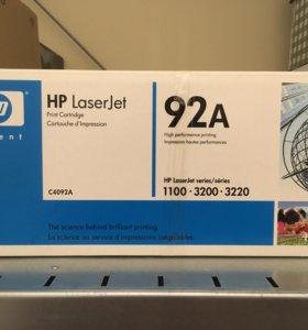 Оригинальный картридж HP 92A