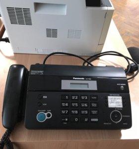 Факс-аппарат, в рабочем состоянии