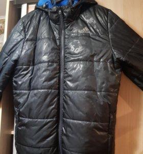 Куртка осенняя двухсторонняя adidas