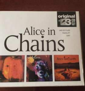 Alice in Chains 3СD Box