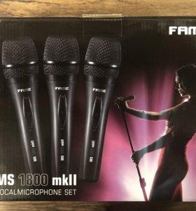Микрофоны Fame, комплект 3 штуки