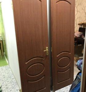 Двойная ламинированная дверь