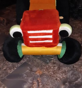Мягкая игрушка-качалка