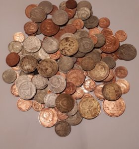 Монеты СССР ранние и поздние