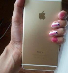 Айфон 6 плюс золотой
