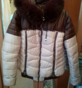 Продам зимнюю куртку размер 48