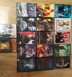DVD video диски