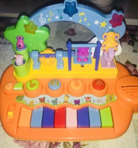 Музыкальное пианино.