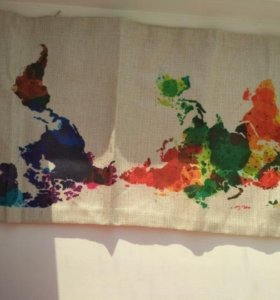 Наволочка для подушки декоративная льняная лен
