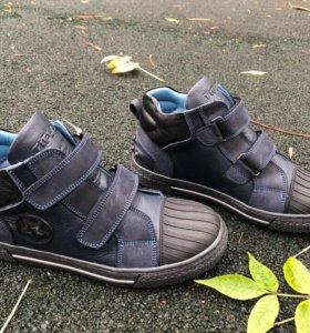 Демисезонные ботинки для мальчика Tiflani