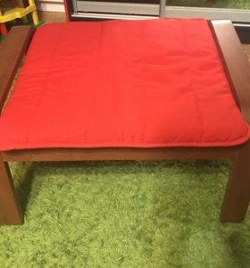 Табурет пуф Pueng IKEA