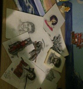 Картины/рисунки на заказ