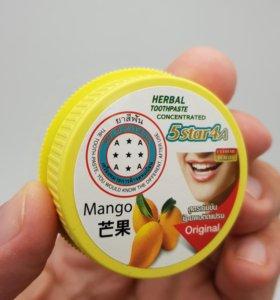 5 STAR 4A Тайская зубная паста на травах 🇹🇭