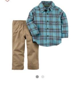 Комплект брюки и рубашка фирмы Картерс (Америка)