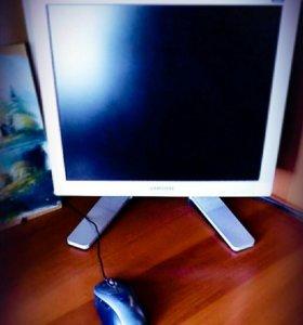 Компьютер(монитор,системный блок,клавиатура, мышь)
