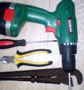 Выполняю ремонт на дому электрика,сантехника