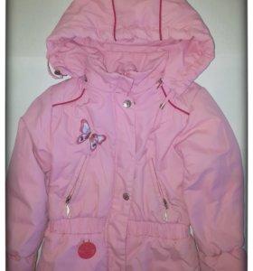 Куртка для девочки,рост 110