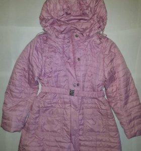 Пальто для девочки,рост 116