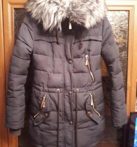 Куртка-парка зимняя 38-42 р.