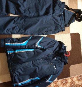 Зимний мужской горнолыжный костюм
