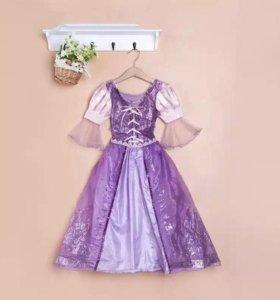 Платье Рапунцель и деадема