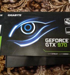 Видеокарта gigabyte GTX 970 WF OC