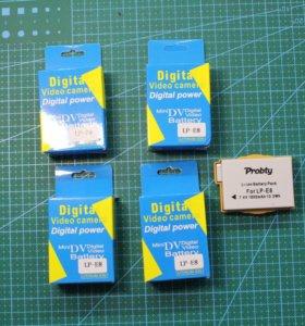 Аккумуляторы для Canon 550D 600D 650D 700D