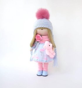 Кукла текстильная, ручная работа