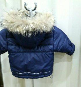 Куртка зимняя 86-92
