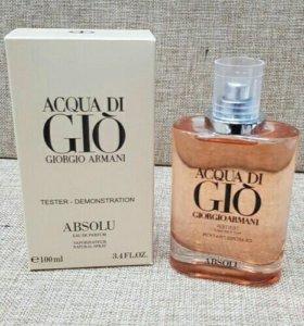 Иестер мужского парфюма Aqua di gio absolu