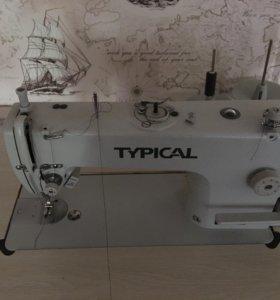 Промышленная машинка для тканей средней плотности