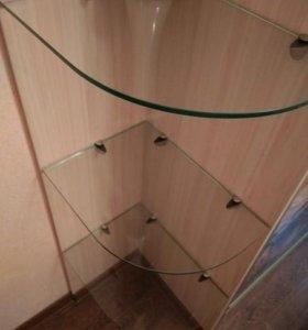 Полки из стекла 8мм