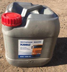Масло моторное КАМАЗ sae 10w40 20 литров канистра