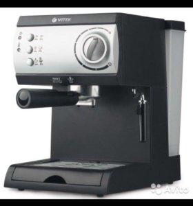 Кофеварка рожкового типа (новая)