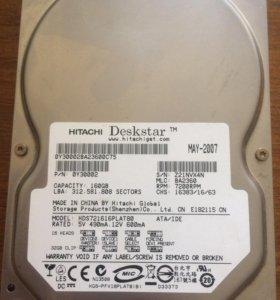 Жесткий диск 160 ГБ Hitachi Deskstar