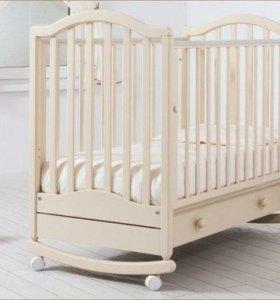 Детская кроватка из бука (Гандылян)
