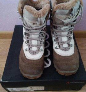 Зимние ботинки ecco, 38